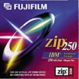 Fujifilm 250MB IBM Zip Disk PC Formatted (1-Pack) (Discontinued by Manufacturer)