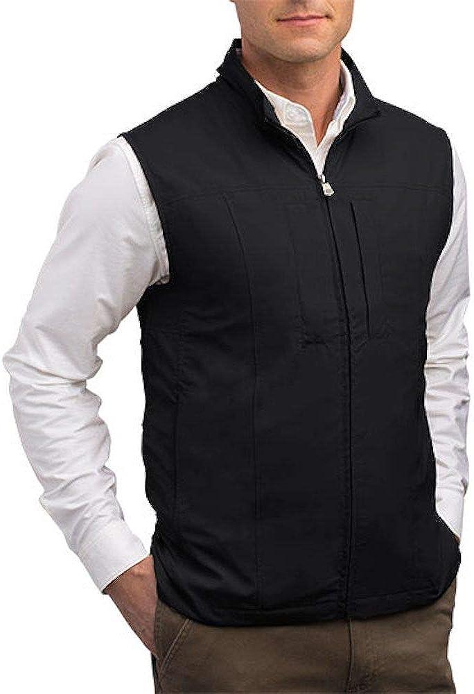 SCOTTeVEST - RFID Blocking Vest with 26 Concealed Pockets I Travel Vest for Men