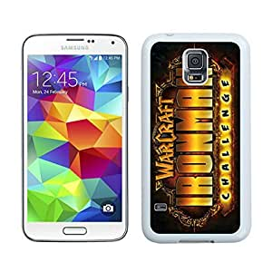 Iron man Case For Samsung Galaxy S5 White