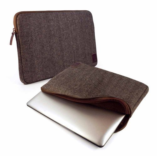 tuff-luv-herringbone-tweed-protective-sleeve-case-cover-13-devices-including-dell-macbook-air-pro-to