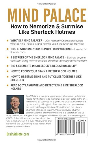 Mind Palace - How to Memorize and Surmise Like Sherlock
