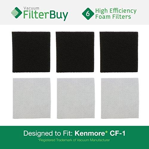 vac filters kenmore - 3