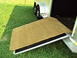 Kempf Horse Trailer Ramp Coir Mat, 4-Foot by 10-Foot