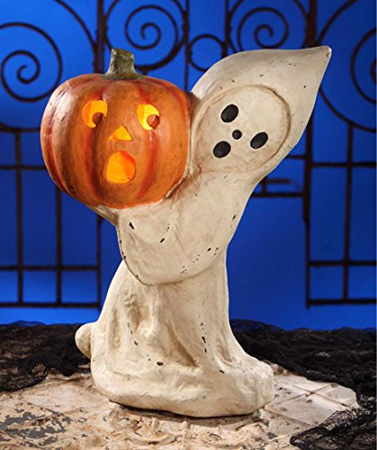 Bethany Lowe TJ4227 Halloween Ghost With (Paper Mache Halloween Lanterns)