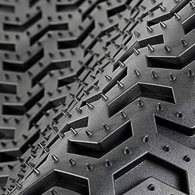 Rugged Ridge 12987.03, All Terrain Floor Liner Kit, Front/Rear, Black, 2007-2020 Jeep Wrangler JK  2 Dr: Automotive