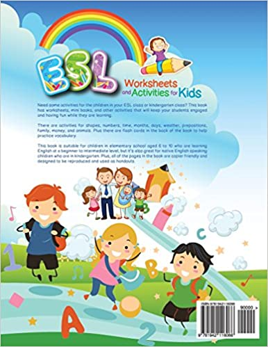 ESL Worksheets and Activities for Kids: Miryung Pitts ...