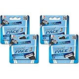 Dorco Pace 3- Three Razor Blade Shaving System- Value Pack – 16 Cartridges (No Handle)