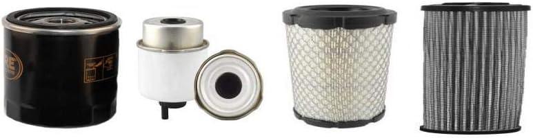 JCB 8014 CTS Filter Service Kit w//403D tier 3 Eng.