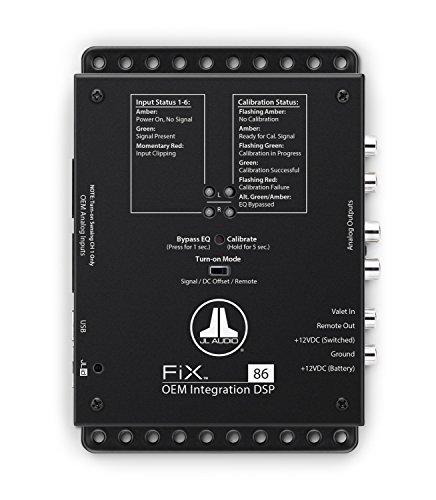 JL Audio FiX-86 OEM یکپارچه پردازنده صدا دیجیتال صدا / تصحیح زمان خودکار و اکولایزر دیجیتال