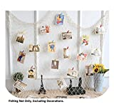 Mediterranean Decorative Nautical Fish Net - Anchor Sea Shells Home Party Decoration 79''x157''