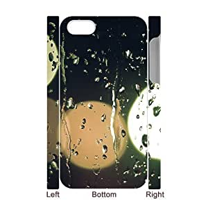 3D iPhone 4/4s Case Blurred Lights Outside The Window White
