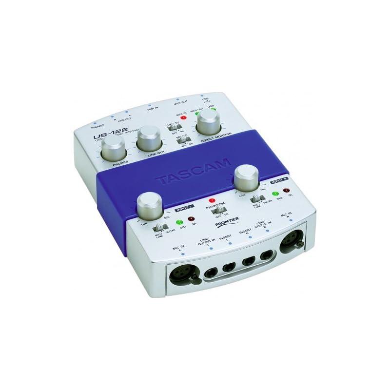 tascam-us122-audio-midi-interface