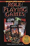 Official Price Guide to Role Playing Games, Timothy Brown and Tony Lee, 0676601448