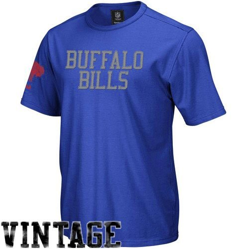 Reebok Buffalo Bills Vintage Applique T-Shirt Small