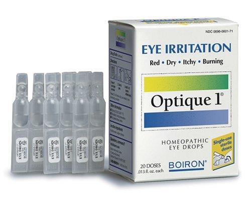 Boiron Homéopathie Optique à usage unique Gouttes pour les irritations des yeux, 20-Count Boîtes 0,013 fl. oz (Pack de 2)
