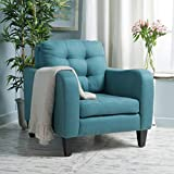 Christopher Knight Home 300003 Sorrento Arm Chair, Dark Teal Review