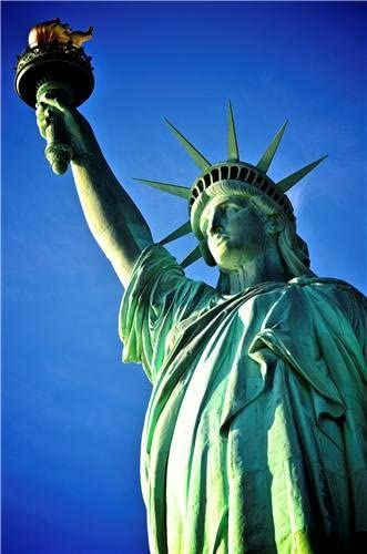 10x8 Inch Statue of Liberty Print New York USA Poster
