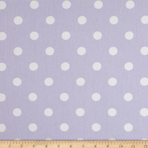 Premier Prints 0408847 Polka Dot Twill Wisteria Fabric by the Yard (Polka Upholstery Dot)