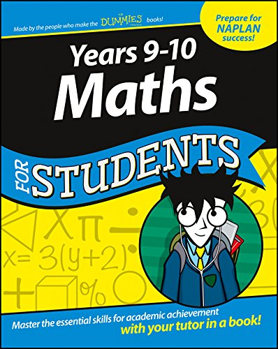 Years 9-10 Maths for Students (1st 2015) [Kemp, Sterling, Danielson, Ryan & Zegarelli]