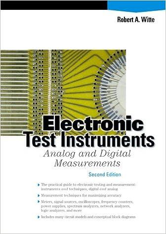 Electronic test instruments analog and digital measurements 2nd electronic test instruments analog and digital measurements 2nd edition robert a witte 0076092030133 amazon books fandeluxe Images