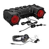 450 watt stereo system - Package: Boss ATV30BRGB 450W ATV Motorcycle/Off Road/Marine Dual 6.5