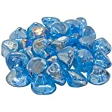 Peterson Real Fyre Steel Blue Diamond Nuggets - 10 Lbs