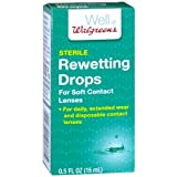 Walgreens Eye Rewetting Drops 0.5 oz(pack of 2)
