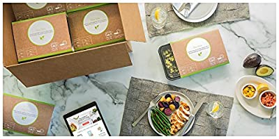 Metabolic Meals 7 Day Clean & Lean Meal Bundle: 7 Breakfasts, 7 Lunches & 7 Dinners - Gluten-Free Healthy Chef-Prepared Meals