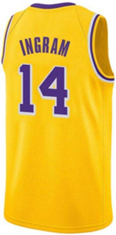 Genmaisiquanjia Fan Jerseys No. 14 Brandon Ingram Camiseta De ...