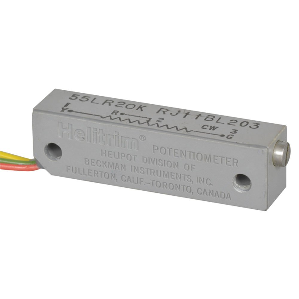 1-1//4 Rectangular 1-1//4 Rectangular 3-6 Wire Leads Side Adjust BI Technologies 55LR200 Cermet Potentiometer 1 Watt 200 Ohms 3-6 Wire Leads Side Adjust Pack of 10 22 Turns 3/% Tolerance