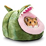 Hollypet Warm Small Pet Animals Bed Dutch Pig Hamster Cotton Nest Hedgehog Rat Chinchilla Guinea Habitat Mini House 17