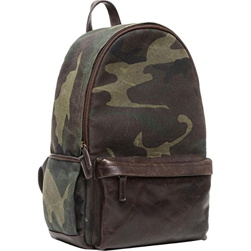 The Leather Clifton Camera and Everyday Backpack (Camouflage) B074WC3LKY