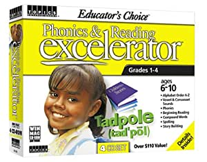 Educator's Choice Phonics and Reading Excelerator Grades 1-4