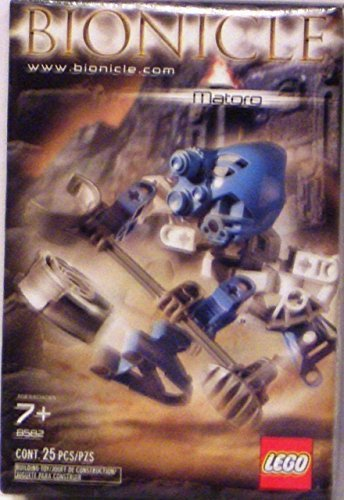 Lego Bionicle Matoran Mini Box Set Figure #8582 Matoro (Light Blue)