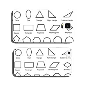 geometric shapes vector cell phone cover case Samsung S5