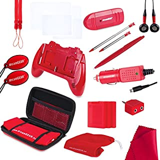 dreamGEAR Nintendo 3DS 20-in-1 Essentials Kit (red) (B004LQRDRM) | Amazon price tracker / tracking, Amazon price history charts, Amazon price watches, Amazon price drop alerts