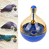 Bird Seed Food Foraging Ball Tumbler Toy for Pet Parrot Budgie Parakeet Cockatiel