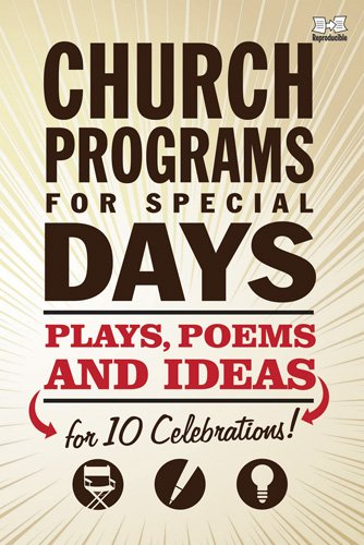 amazon church programs for special days plays poems and ideas