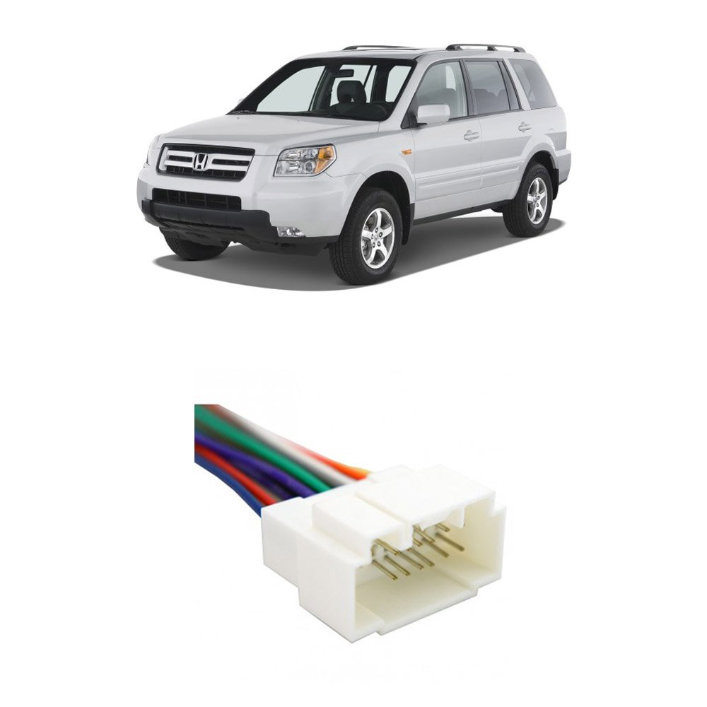 Amazon.com: Fits Honda Pilot 2003-2008 Factory Stereo to Aftermarket Radio  Harness Adapter: Car Electronics