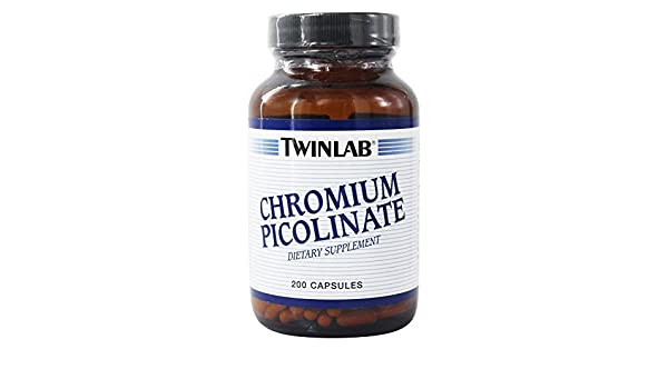 Amazon.com: Twinlab Chromium Picolinate 200 mcg, 200 capsules: Health & Personal Care