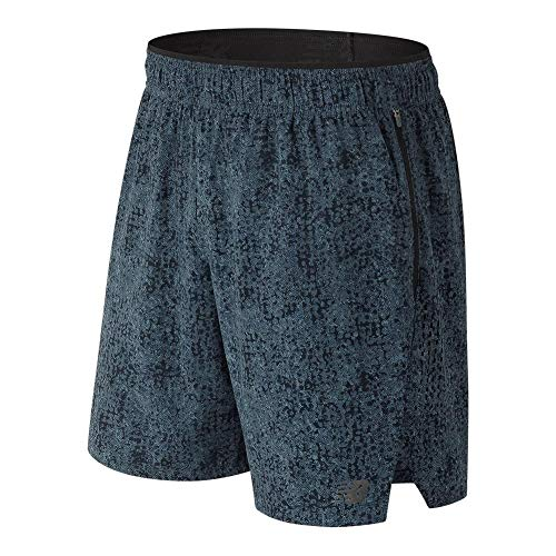 New Balance-Men`s Printed Transform 2-in-1 Tennis Short-(798248754709)