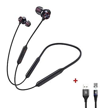 MOSHOU Auriculares Bluetooth Gaming Deportivos Headphones ...