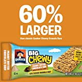 Quaker Chewy Dipps Chocolatey Covered Granola Bars, Chocolate Chip, 6 Bars