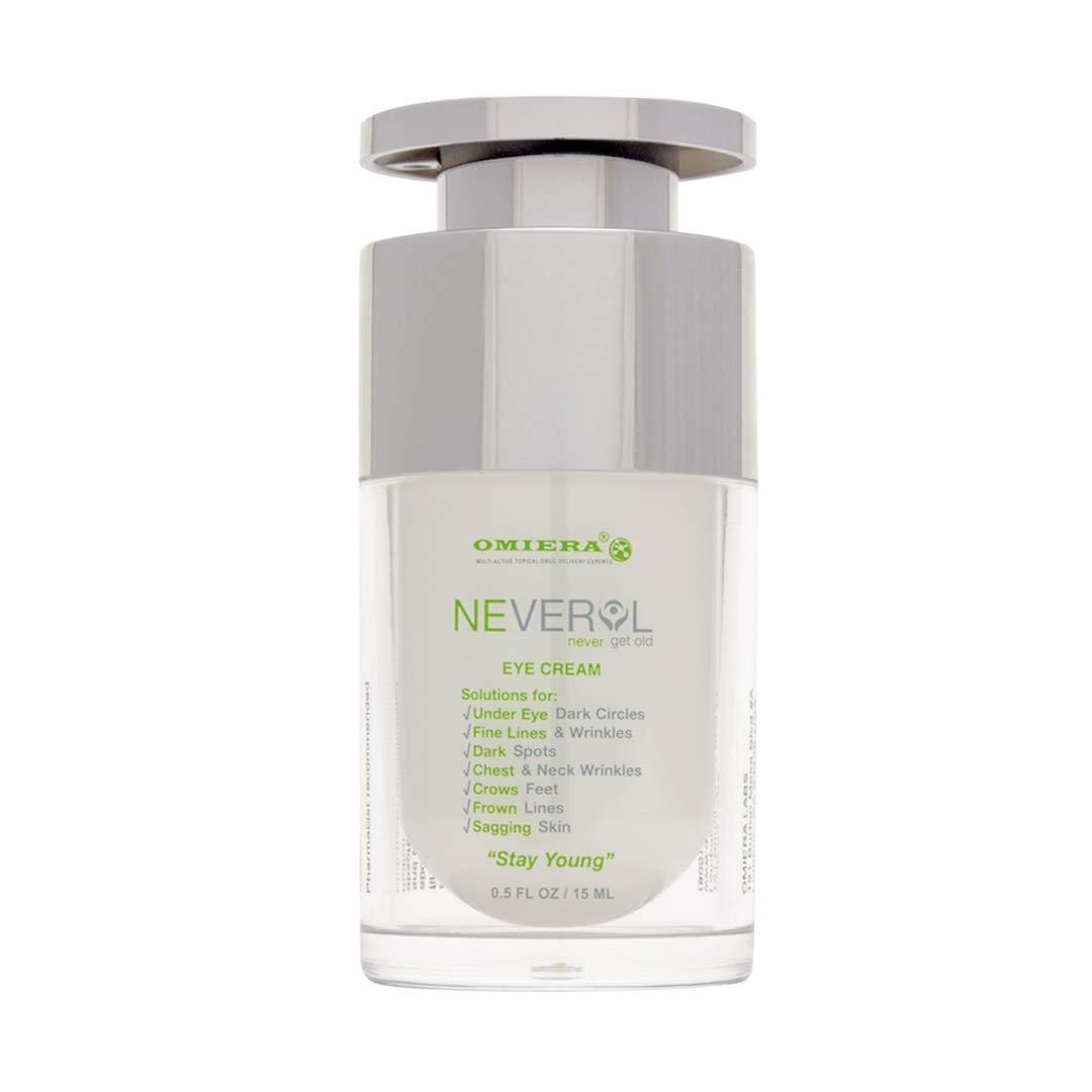 Neverol Anti Aging Eye Cream Moisturizer, Eye Cream for Dark Circles and Puffiness, 15g