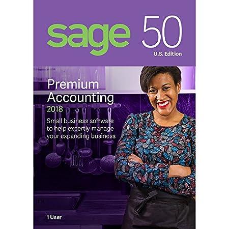 Sage Software Sage 50 Premium Accounting 2018 U.S. 1-User