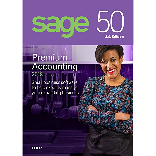 Sage Software Sage 50 Premium Accounting 2018 U.S. - Outlets One Premium