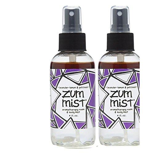 Indigo Wild: Zum Mist Lavender-Lemon Patchouli 4 Fl Oz Set of (Indigo Wild Zum Mist Lavender Lemon)