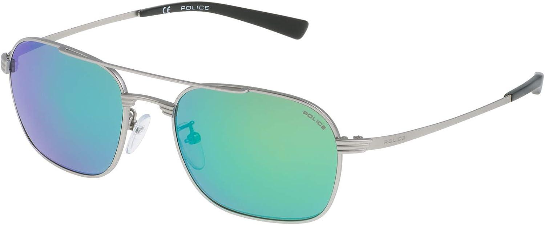 Police SK53952581V Gafas de sol, Gris, 52 para Hombre