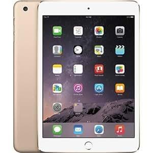 Apple iPad Mini 3 MGYE2LL/A NEWEST VERSION (16GB, Wi-Fi, Gold) (Certified Refurbished)