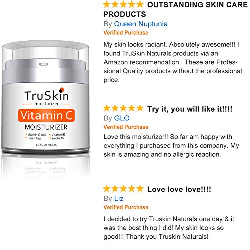 51X9bTa KBL - BEST Vitamin C Moisturizer Cream for Face, Neck & Décolleté for Anti-Aging, Wrinkles, Age Spots, Skin Tone, Firming, and Dark Circles. 1.7 Fl. Oz